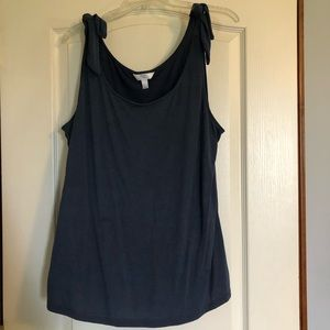 *3/$15* Time and Tru Shoulder Tie Tank